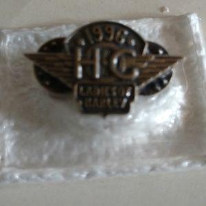 Ladies of Harley Owner's Group Pin